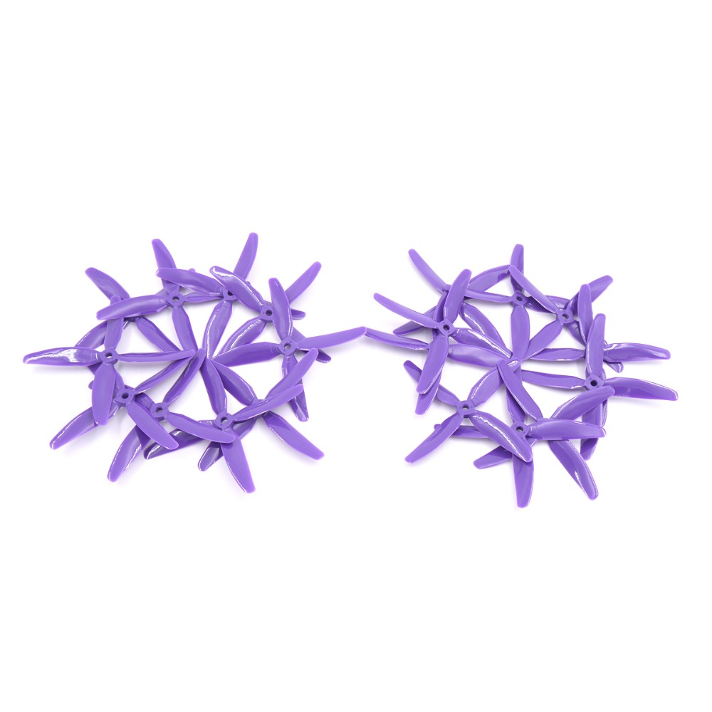 Hot new 10 paires kingkong 5x4x4 5040 5 pouce pales hélice cw ccw pour fpv racer rc multicopter