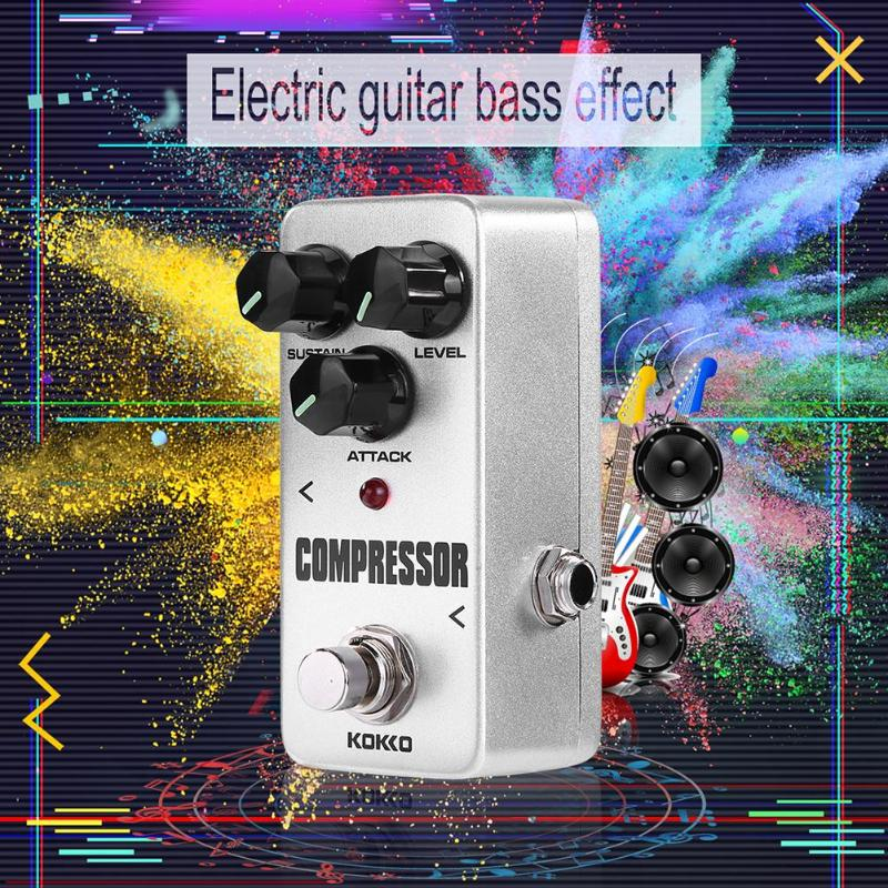 Image 3 - KOKKO Guitar Pedal Effect Compressor Booster Distortion Overdrive Electric Bass Guitar Effects True Bypass Musical Instruments-in Guitar Parts & Accessories from Sports & Entertainment