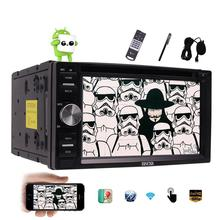 Android 6.0 Car Stereo 2 Din Capacitive Screen Car pc DVD Player In Dash GPS Navigation Bluetooth Support OBD2 WiFi Mirrorlink
