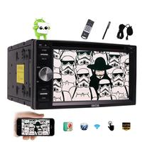 Android 6 0 Car Stereo 2 Din Capacitive Screen Car Pc DVD Player In Dash GPS