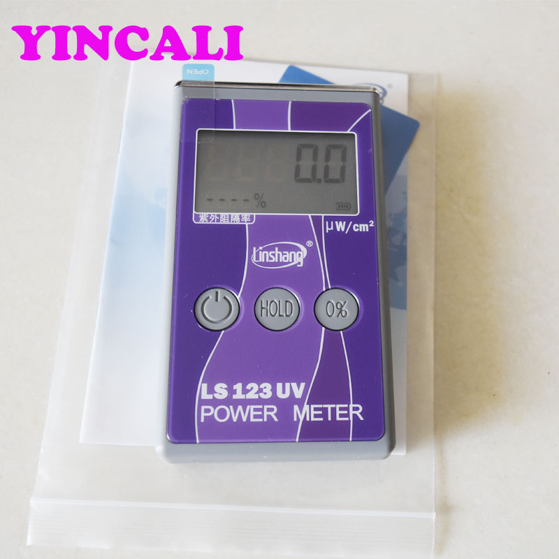 Good Quality UV Power Meter LS123 Portable Intensity Meter UV rejection meter Irradiance measuring range 0 -40000 uW /c m2 4 8 days arrival lb92t portable sweetness tester brix meter with measuring range 58 92