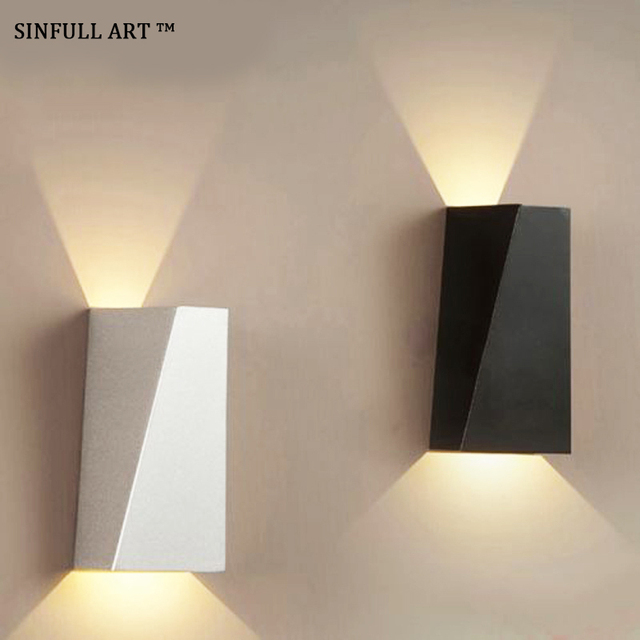SINFULL Moderne 10 W Led Wandlampen Woonkamer Slaapkamer Wandlamp ...