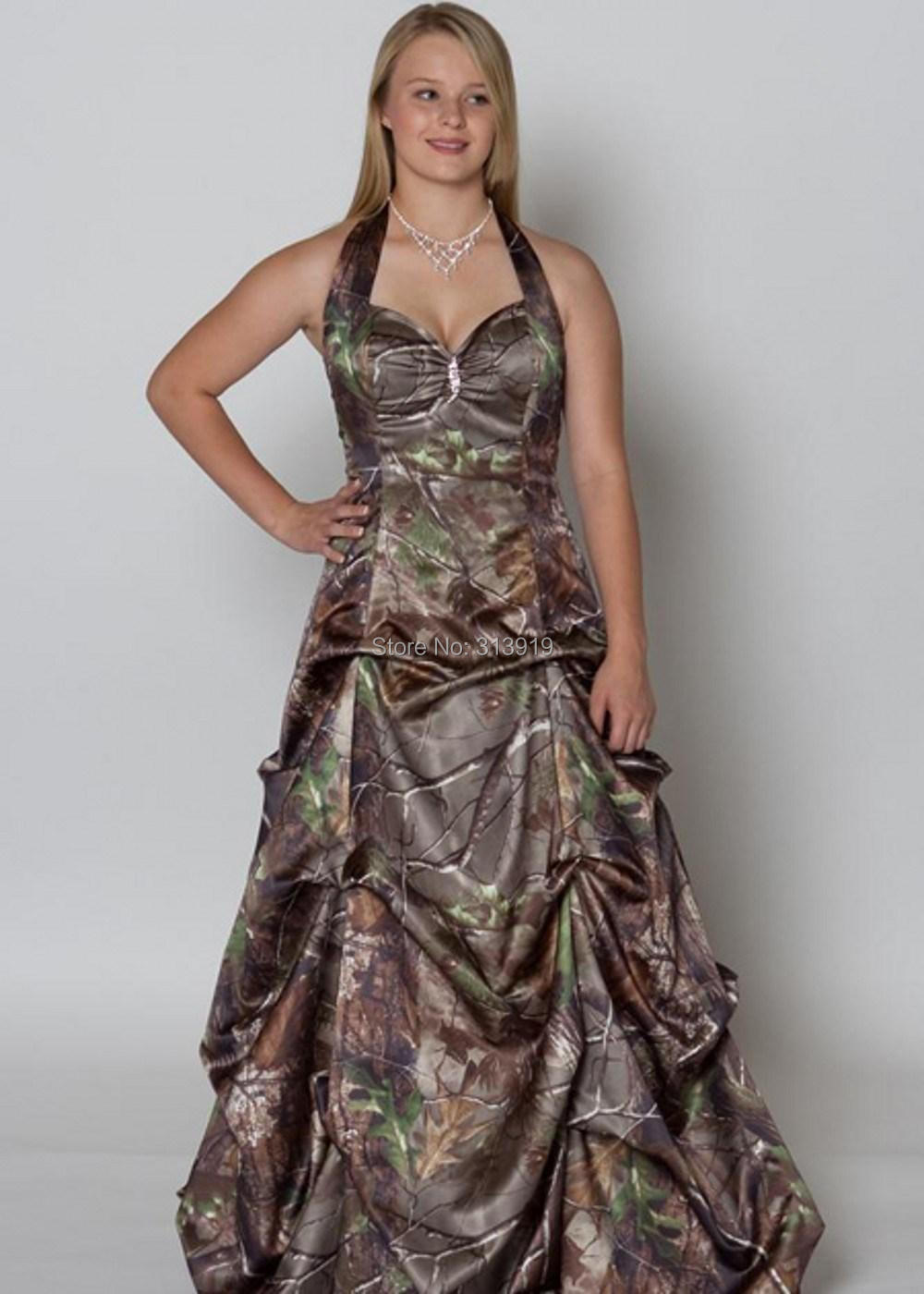 236fad3b9c printing military realtree camo prom dress 2017 new styles camouflage gowns  size 0 custom make free shipping-in Prom Dresses from Weddings   Events on  ...