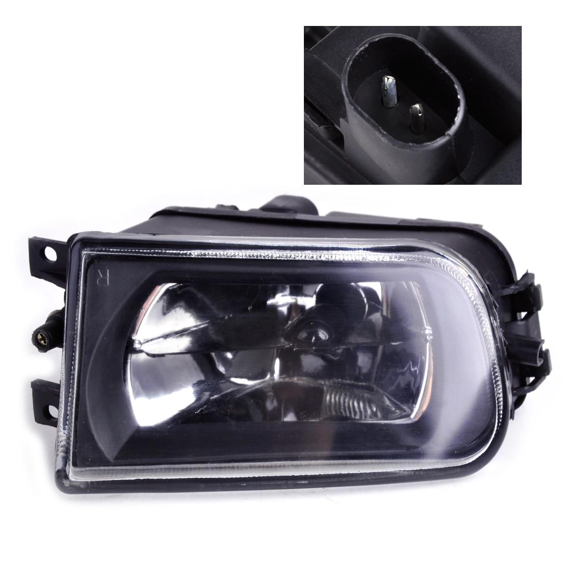 DWCX 63178360576 Right Fog Light Lamp for BMW E36 Z3 E39 5 Series 528i 540i 535i 1997 1998 1999 2000 wisengear clear lens fog lights bumper driving lamp housing for bmw e39 5 series 528i 540i 1997 2000 z3 1997 2001 car styling