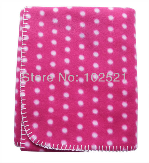 """45.3""""x29.5"""" 200gsm Fleece Throw Lap Blanket Fluffy & Warm Great for car, airplane, home, outdoors"""