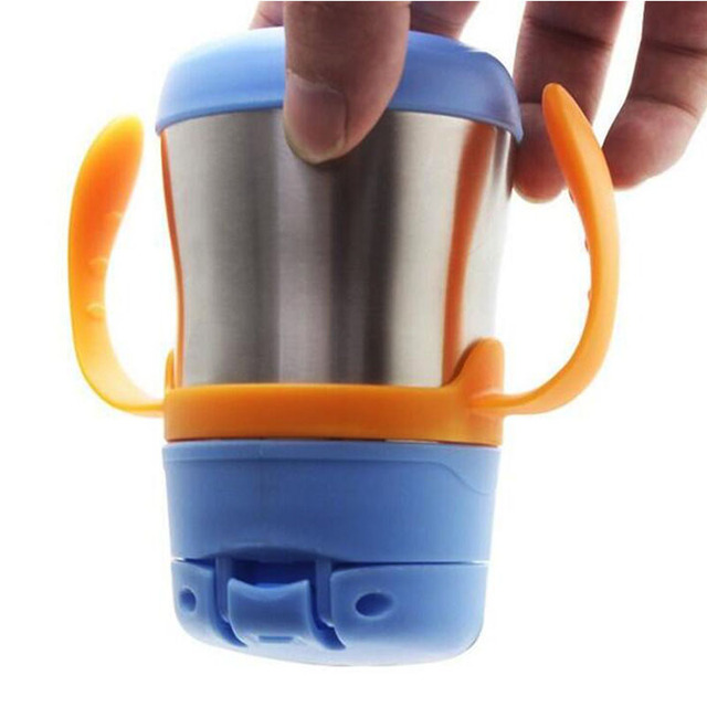 Bobei Elephant Insulated Baby Straw Cup 200ml