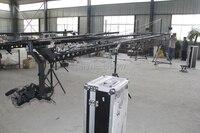Стрелы крана 10 м 3 оси поворотник Глава Портативный камеры Кран dslr с игрушкой и монитор фабрика питания