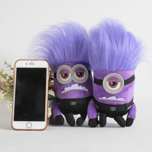 Despicable Me Toys for Children Anime Stuffed Plush Doll Purple Minions Plush Toys Soft Stuffed Pillow Christmas Gift for Kids