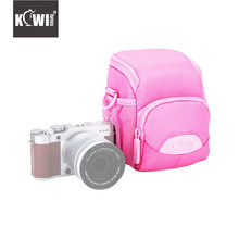 Kiwi Pink Camera Case Bag for SONY RX10 IV RX10 III RX10 II A7R II A7S II A6000 A6300 A6500 A5000 Canon G1X Mark III EOS M100