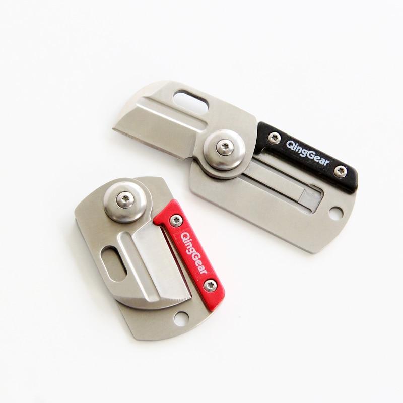 """""""QingGear"""" sulankstomas kišeninis peilis EDC kišeninis - Rankiniai įrankiai - Nuotrauka 4"""