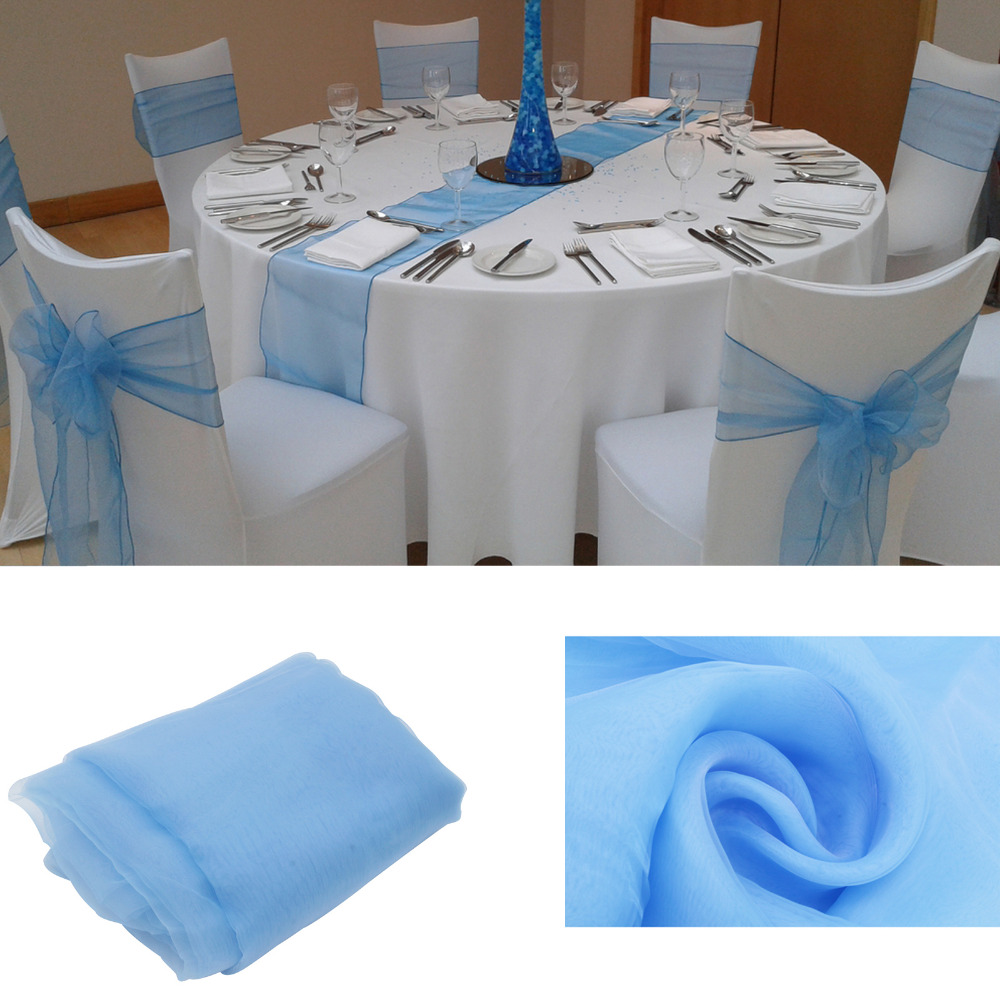 12x108 30275cm 10pcs High Quality Lavender Table Runner For