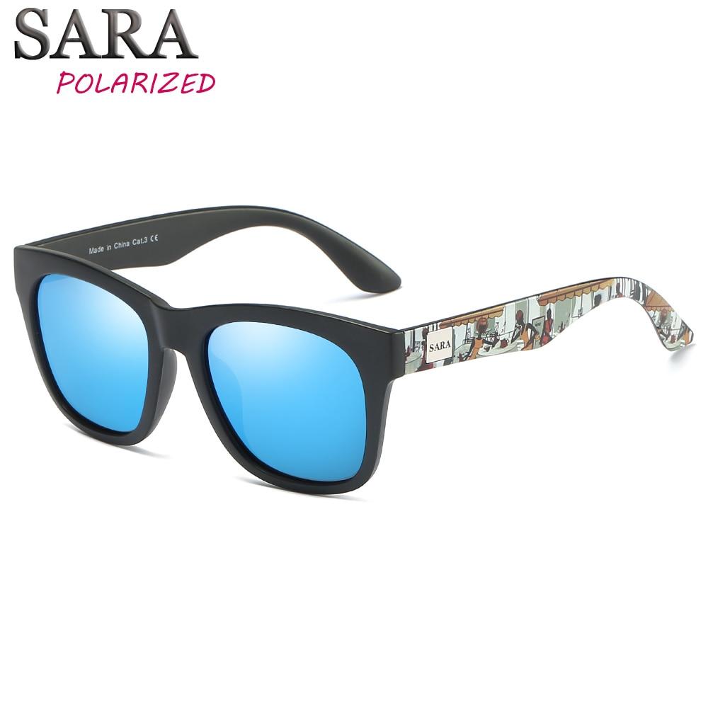 5b4bef1ae0dc6 SARA 2018 New Polarized Sunglasses Men Square Sun Glasses Women Brand  Designer Coating Mirror Polaroid Lens Shades Female UV400-in Sunglasses  from Apparel ...