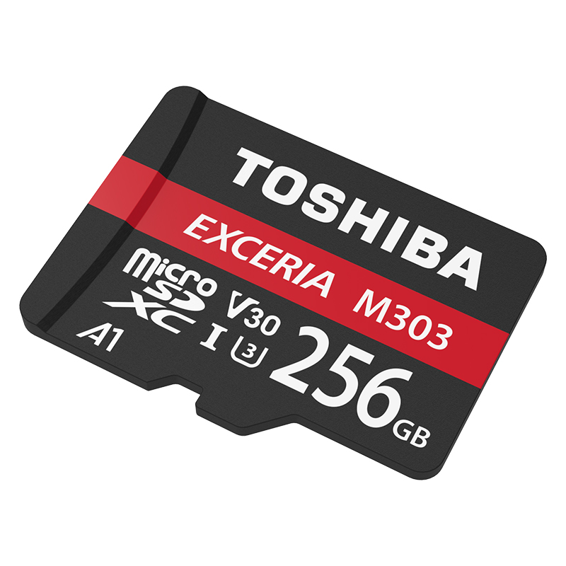 TOSHIBA M303 Micro carte SD carte mémoire 64 GB 128 GB 256 GB MicroSD Max 98 M/s MicroSDXC V30 UHS-I U3 A1 TF carte appliquer à la vidéo 4 K HD