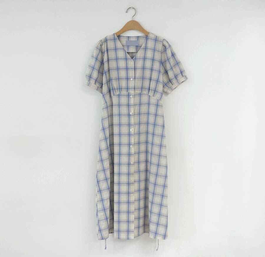 Большие размеры; летнее платье для девочек; Boho вечерние женские винтажные платья; клетчатый кардиган с пуговицами; женские платья с коротким рукавом; длинное платье; Vestido