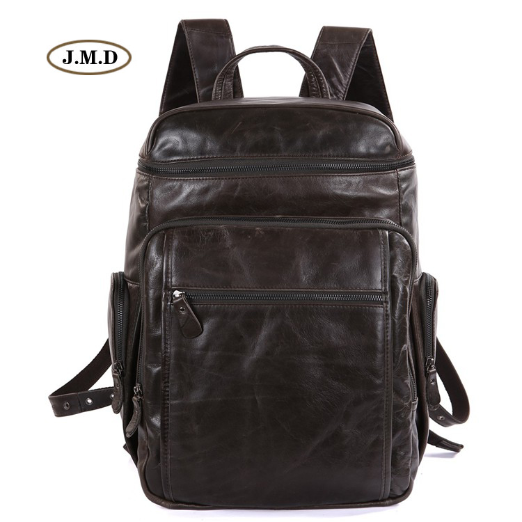 J.M.D New Arrivals Genuine Leather Men's Fashion New Design Large Capacity Travel Tote Rucksack Male Laptop Bag  Backpack 7202J набор для изготовления мыла каррас чудо мыло египет