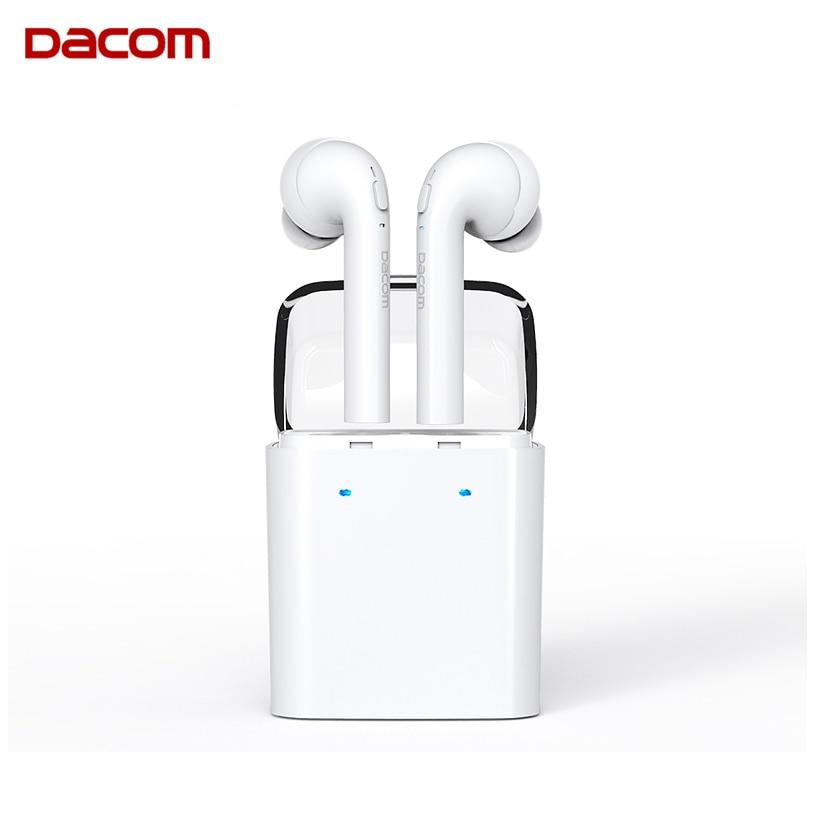 Dacom GF7 Tws True Wireless Bluetooth Headset Mini Bluetooth 4.2 Double Earpiece Stereo Earbuds In-Ear Earphone For Smartphone