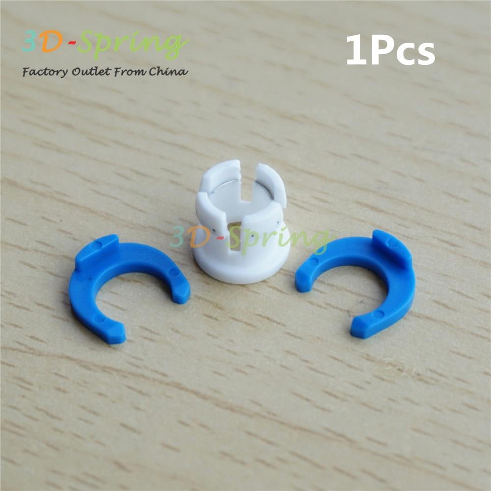 Bowden трубки скрепляющий хомут и зажим клип набор фитинги разъем для Ultimaker фиксированной 6 мм трубки