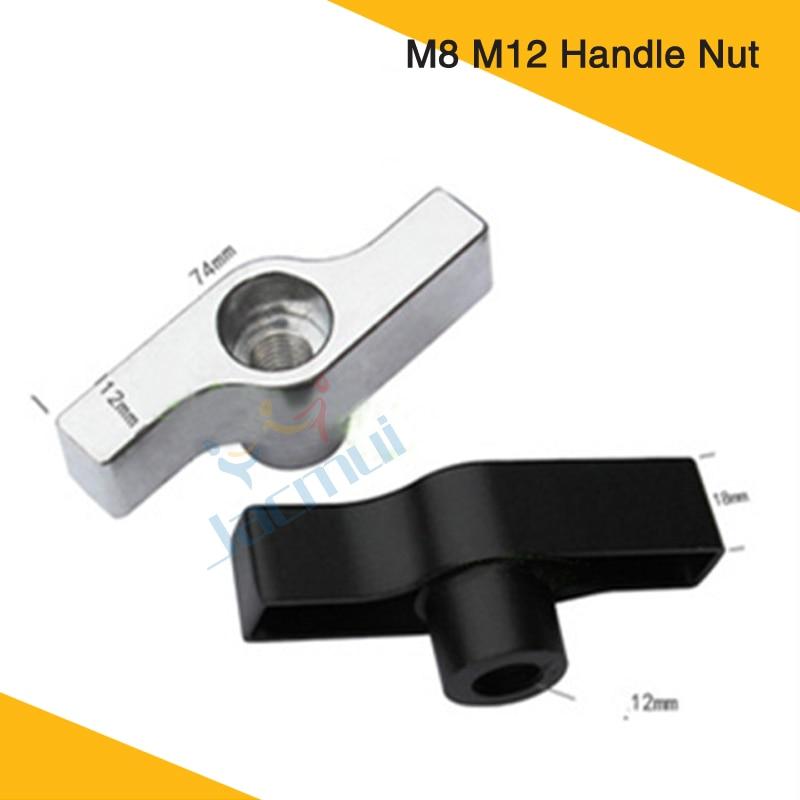 T Shape Bolt Nut M8 M12 Handle Nut  Aluminum Alloy Light Hook Parts