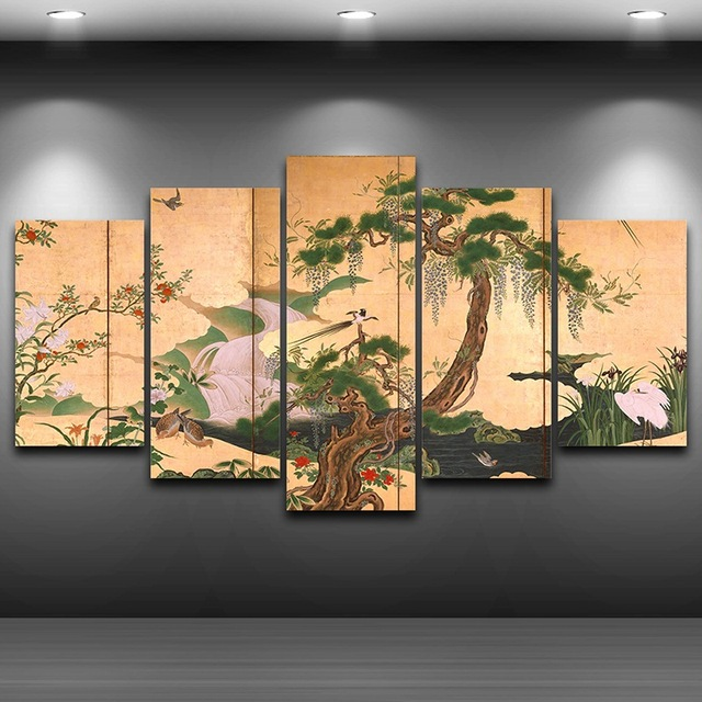a7102ed64 Hd مطبوعة ديكور المنزل مؤطرة جدار الفن حتى صور طباعة اللوحة الفنية على قماش  AE0450 رذاذ