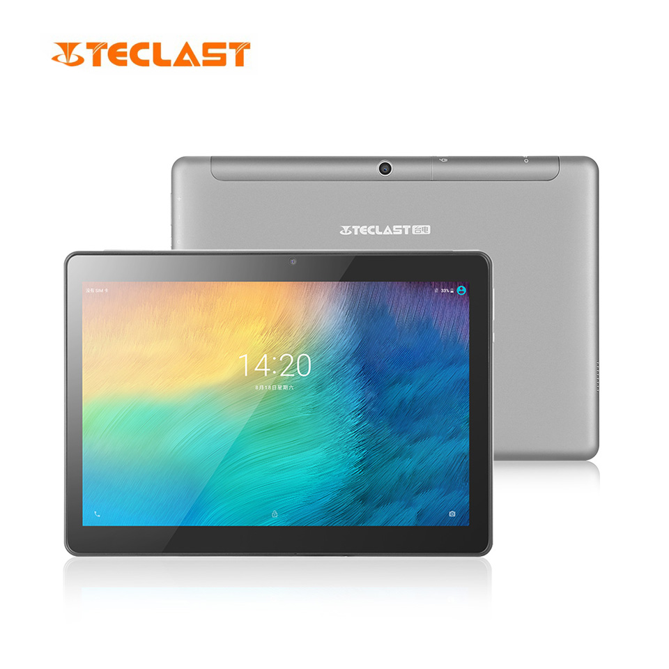 Teclast M20 Dual 4g LTE Tablet PC 10.1 di pollice 2560*1600 Android 8.0 MT6797 X23 Deca Core 4 gb di RAM 64 gb ROM Del Telefono Compresse