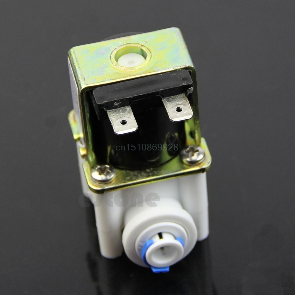 Brillant Plastic Elektrisches Magnetventil Für Ionisator Wasserfilter Einlass Strömungswächter Dc 24 V Ventil