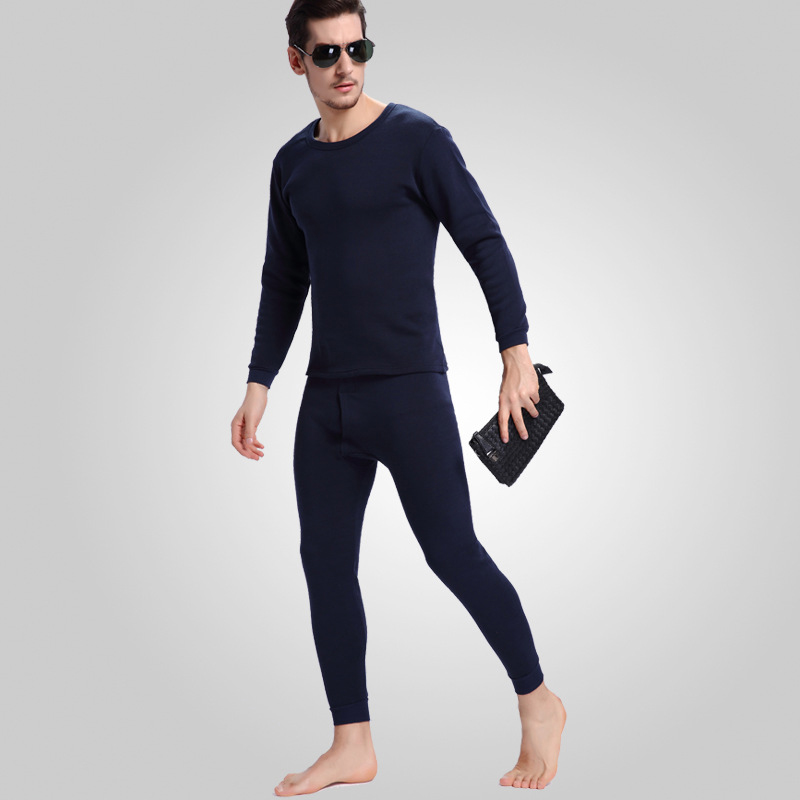 Long Johns For Winter Man Thermal Underwear Winter Solid color ...