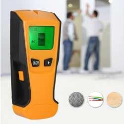 Многофункциональный цифровой настенные Ручной металлодетектор деревянные шпильки Finder кабель переменного тока Live сканер провод Smart
