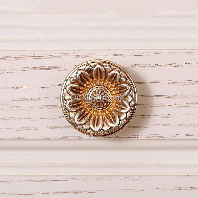 HOT 5 paire ou 10 pièces européenne Antique cuisine porte meubles poignées placard tiroir armoire à vin tire poignées et boutons - 5