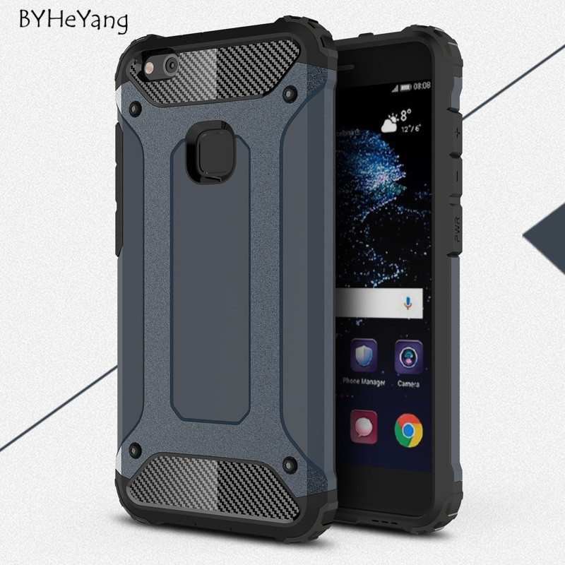 buy byheyang for huawei p10 lite case p10 lite cove slim armor silicone pc. Black Bedroom Furniture Sets. Home Design Ideas