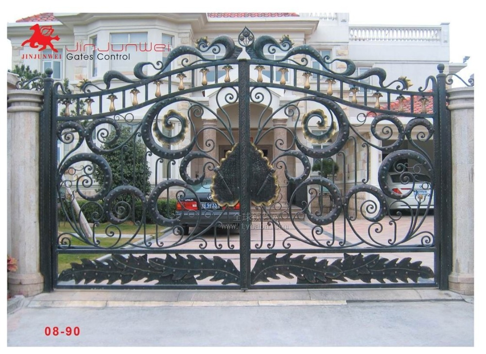 Aluminium Gates Driveway Gates Wrought Iron Gates Forged Iron Gates Hench-16