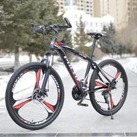 En kaliteli 26 Inç PULID dağ bisikleti Rus toptan ve depo 24 Hız mekanik Disk Fren komple bisiklet