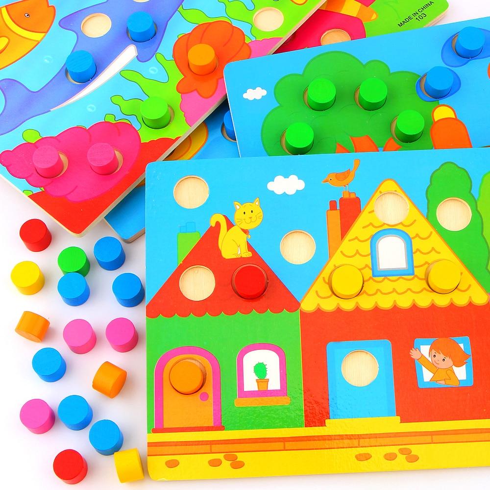 Color Cognition Board Montessori балаларға арналған - Білім беру және оқыту - фото 5
