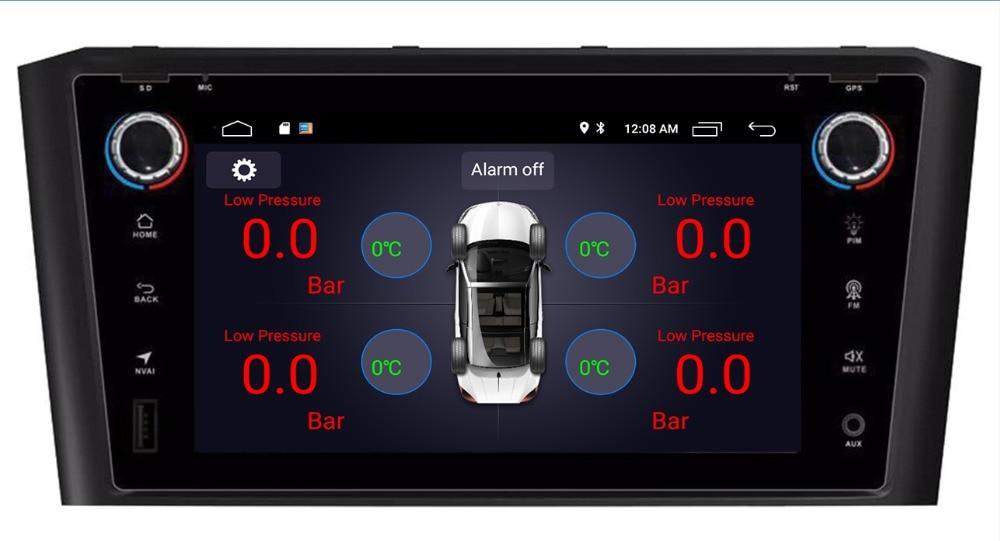 9 pouce Android 8.1 Quad Core Lecteur DVD de Voiture avec GPS système de Navigation Radio Pour Toyota/Avensis T25 2002 -2008 AM FM USB WiFi 3g