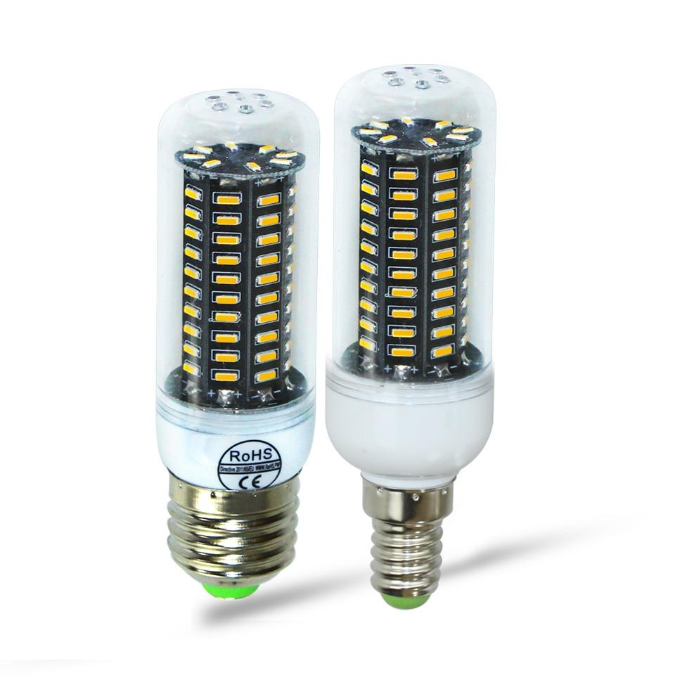 E27 E14 Led Corn Light bulbs SMD4014 Lamp 220V 38 55 78 88 140Leds Energy Saving Light bombilla led Super bright e14 led e27 led