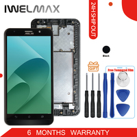 Warranty No Dead Pixel For ASUS Zenfone 2 ZE551ML Display LCD Touch Screen Digitizer Zenfone 2