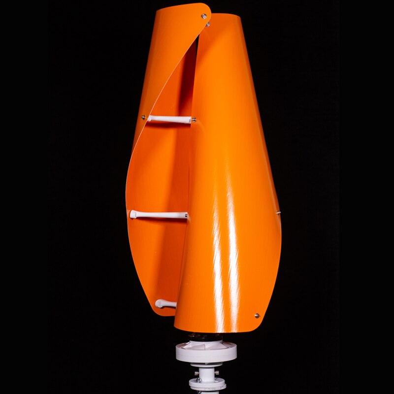 Свободный контроллер вертикальный ветряной генератор оси ветряной турбины Maglev 100 w 300 w 500 w 12 v 24 v