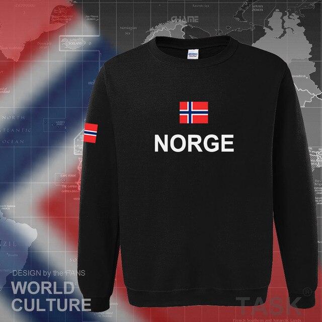 Norway hoodies men sweatshirt sweat new hip hop streetwear footballes jerseyes tracksuit nation Norwegian flag NO Norge Noreg 1