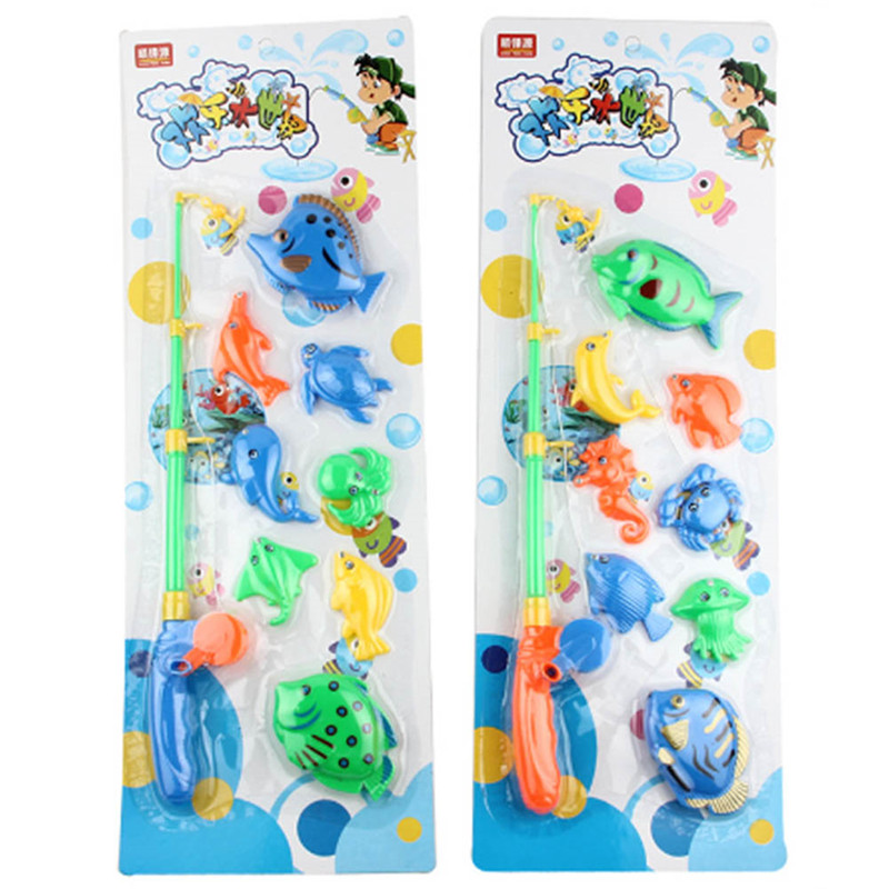 New Baby Kids Magnetic Fishing Game Learning Educational Figures Toys Kids Gift