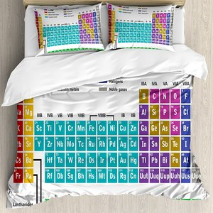 Periodic Table Duvet Cover Set