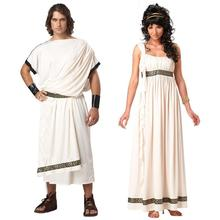 Ancient Greek Mythology Olympus Zeus Hera Fancy Dress Toga God Goddess Cosplay Costume