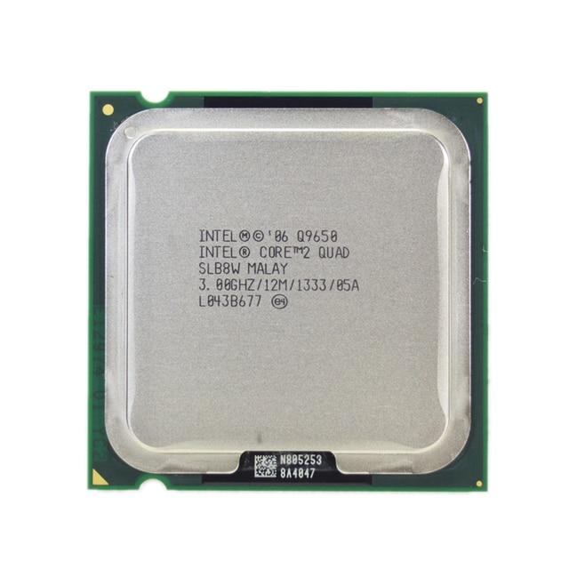 Intel Core 2 Quad Q9650 процессор 3,0 ГГц 12 МБ Кэш ФСБ 1333 настольного LGA 775 Процессор