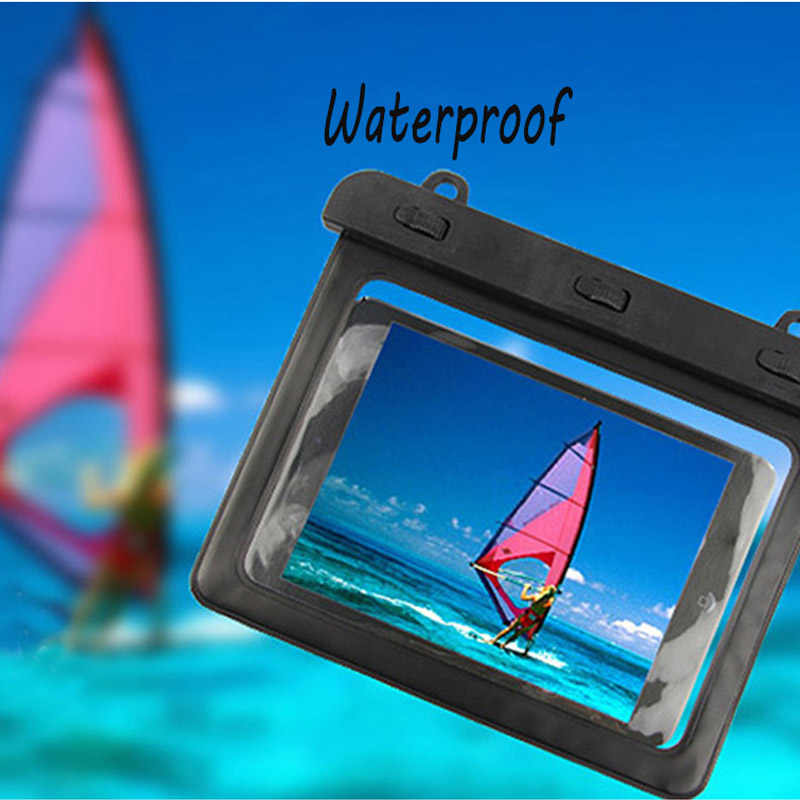 7-8''Waterproof Tablet Dry Bag Water Resistance Pouch Case Cover Protector For Ipad Mini1/2/3 Kindle Samsung mi pad2/3 case