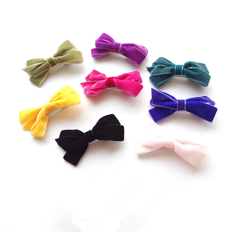 Bows Hair Clips Children Accessory Bowknot Design Kids Headwear Fashion New Style Baby Hair Clip Children Hair Accessores ...