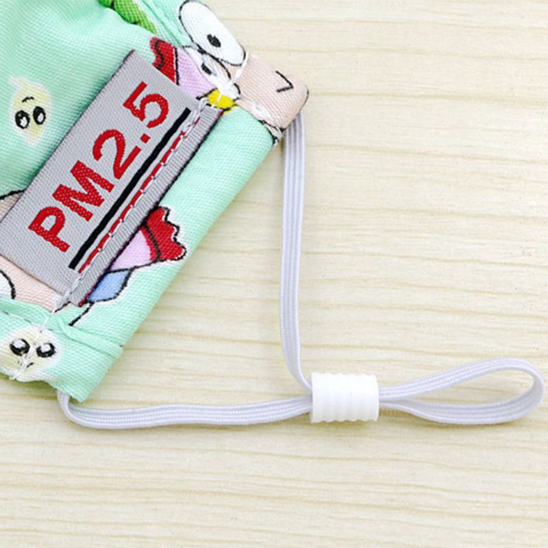 PM2 5 Cotton Mouth Mask Carbon Air Filter Cartoon Animal Printed Candy Color Mouth Muffle Respirator Warmer With Breath Valve in Masks from Beauty Health
