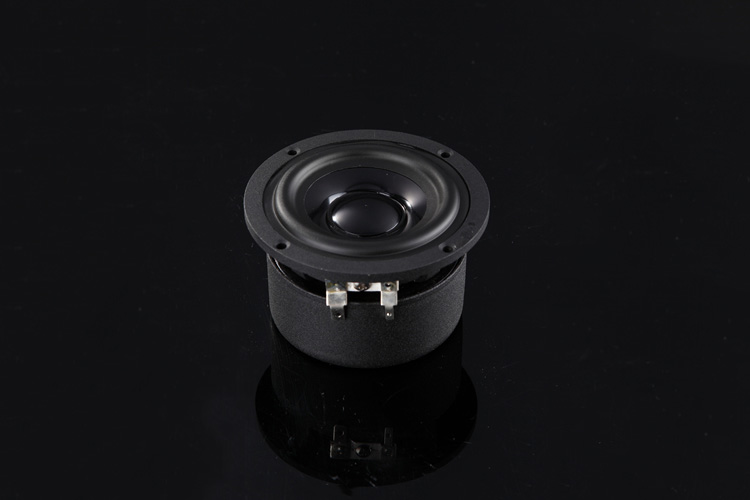 H-015 Fountek FR88 3 inch Aluminum Full Range HIFI Speaker Ferrite Magnetic circuit Size: 88.4*52.4mm h 019 fountek fr88ex full range 3 inch hifi speaker amplifier speaker hot sale 84 3db 1w 1m