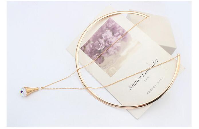 Swarovski Choker Necklace - Jn18*