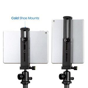 Image 1 - Trípode para tableta, liberación rápida con placa de soporte de aluminio para iPad Mini/4/Pro/Surface Pro 8 DJA99