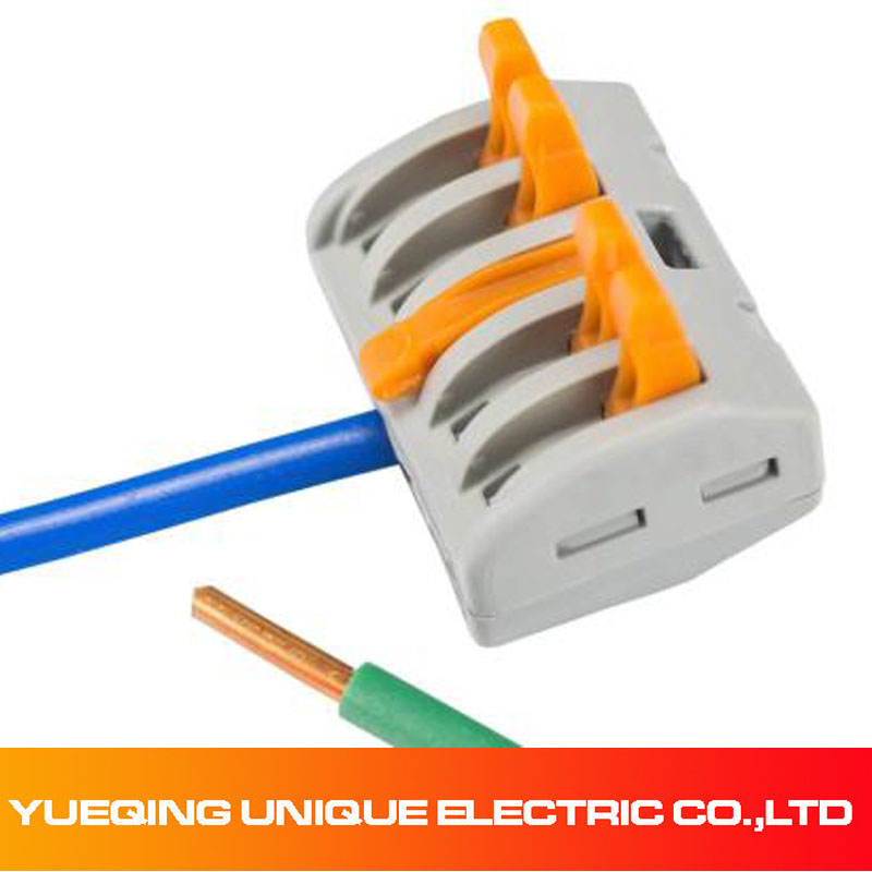 25 pcs lot wago universal compact wire wiring connector conductor rh aliexpress com