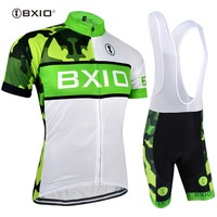 BXIO Cycling Jersey Sets Pro Team Hot Selling Ropa Ciclismo Bike Clothing Bicycle Clothes Cycling Bretelle Ciclismo BX 0209WG072