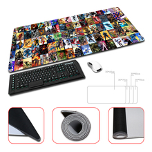 Top Game Mouse Pad Print Locking Edge PC Computer Gaming Batman Mousepad Rubber Play Mat Marvel